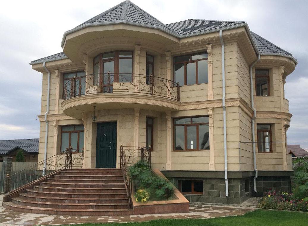 они различаются двухэтажные дома проекты фото в казахстане примером этого можно